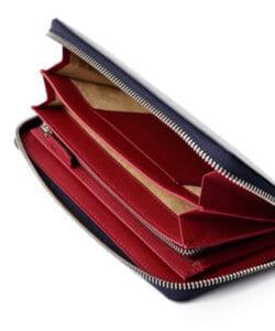 フジタカおすすめ財布:「ジョセフ ブライドルレザー ラウンドファスナー」