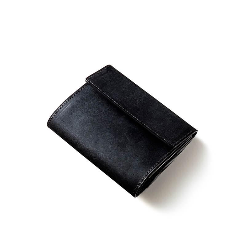 ココマイスターの三つ折り財布紹介