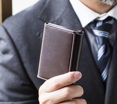 三つ折り財布のメリット
