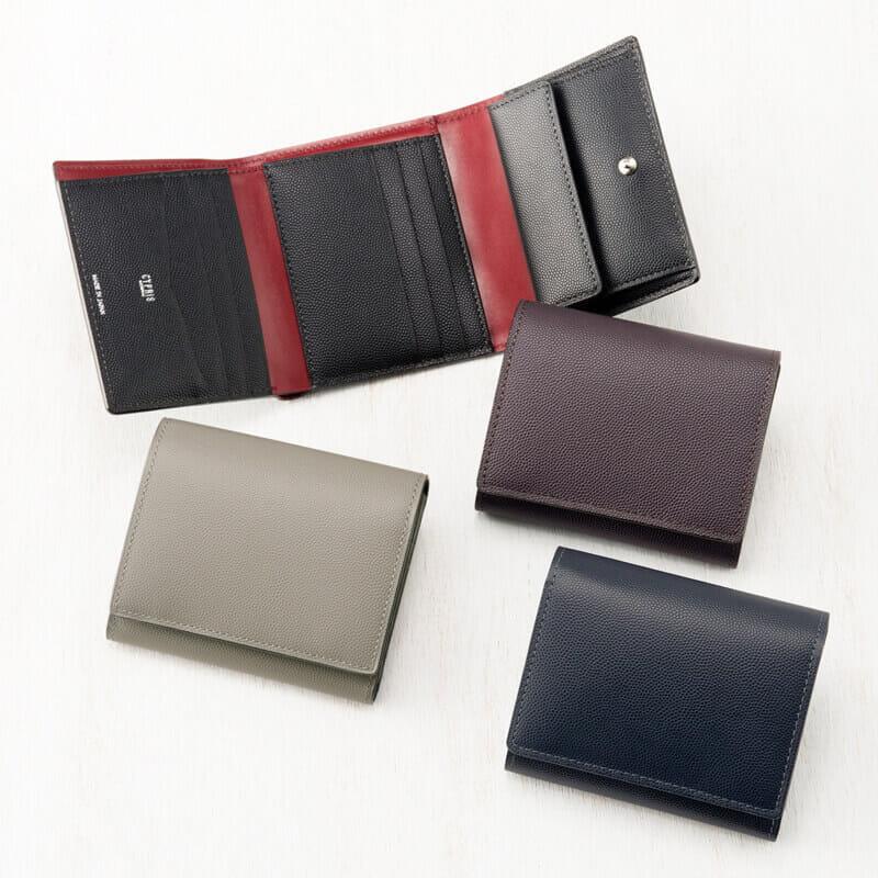 キプリスの三つ折り財布紹介