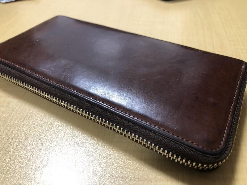 プルキャラックシリーズ 財布の外観