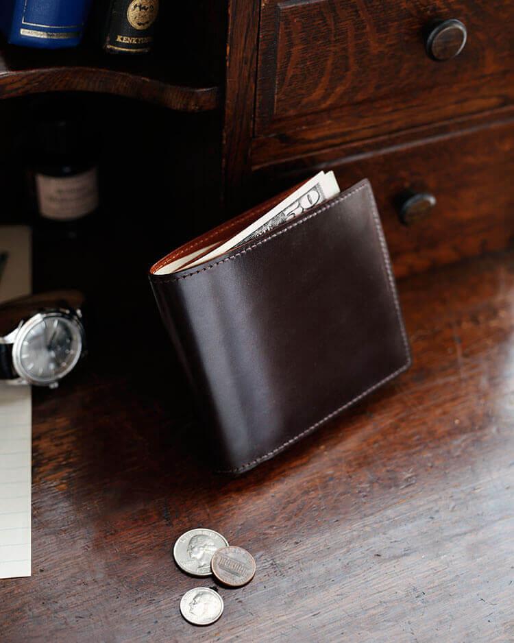 ブライドル 二つ折り財布