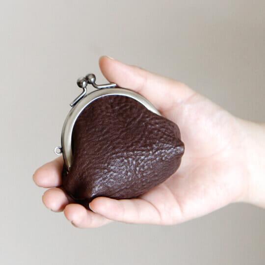 トーンオイルヌメ ミニがま口財布