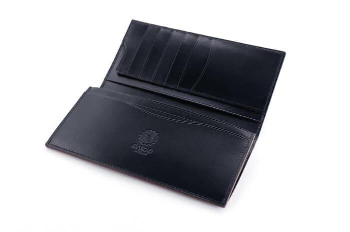 30代男性におすすめのメンズ財布 GLAZING CALFファスナー小銭入れ付き長財布 #57659/【GANZO】