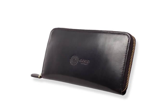 30代男性におすすめのメンズ財布 GUD2 ラウンドファスナー長財布 #57451/【GANZO】