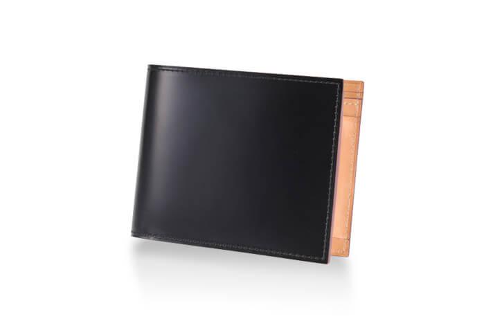30代男性におすすめのメンズ財布 CORDOVAN (コードバン) 小銭入れ付き二つ折り財布 #57879/【GANZO】