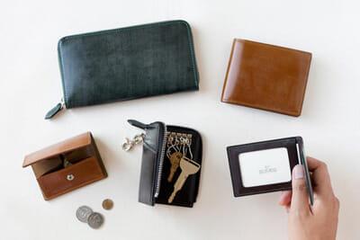 SOMES SADDLE(ソメスサドル)の財布の特徴