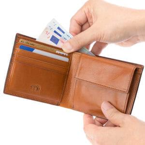 1位:ココマイスターのおすすめ二つ折り財布「ロンドンブライドル・パースファントム」