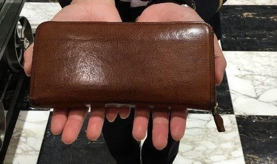 ココマイスタースタッフ愛用の財布紹介「マルティーニ・クラブウォレット(ブランデー)」※写真あり