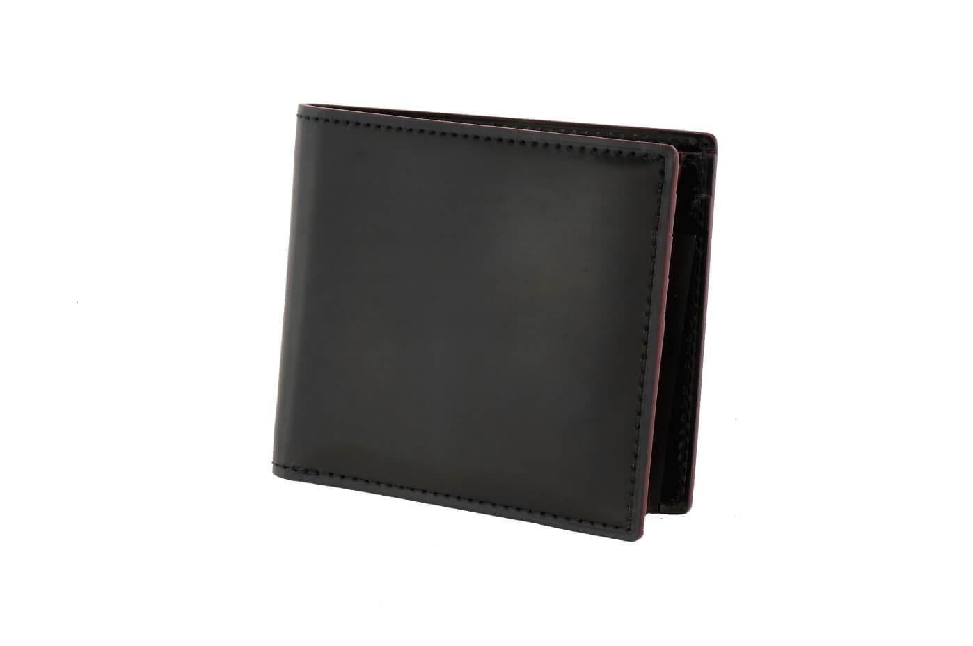 SHELL CORDOVAN 2 小銭入れ付き二つ折り財布