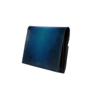 yuhaku(ユハク):YEV122 薄型二つ折り財布