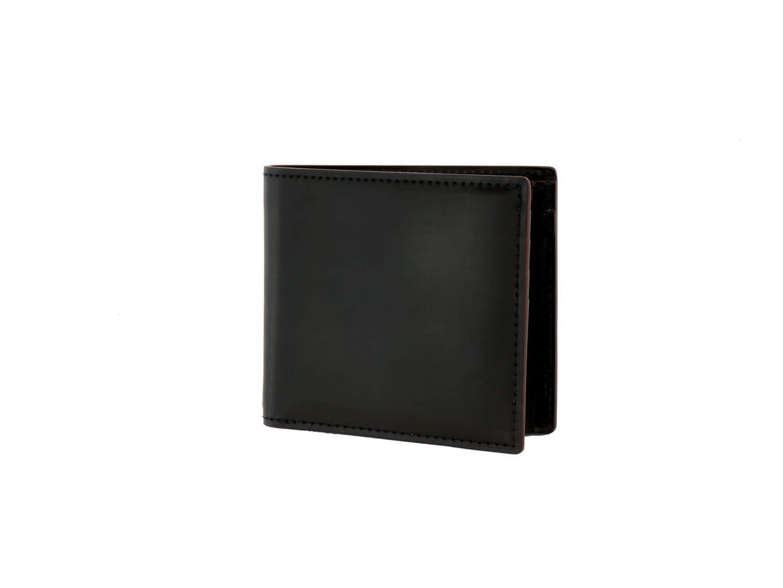 1位:ガンゾのおすすめ二つ折り財布「SHELL CORDOVAN2 小銭入れ付き二つ折り財布」