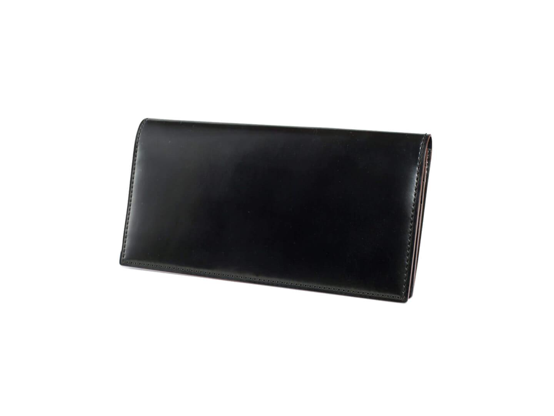 1位:ガンゾのおすすめ長財布「SHELL CORDOVAN2 ファスナー小銭入れ付き長財布」