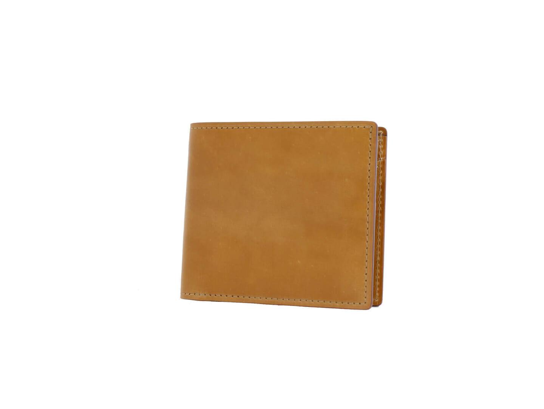 SHELL CORDOVAN 2 小銭入れ付き二つ折り財布ってどんな革財布?