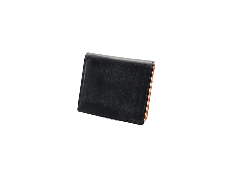 3位:ガンゾのおすすめ二つ折り財布「THIN BRIDLE BOX 小銭入れ付きコンパクト札入れ」