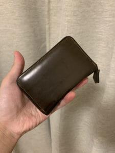 【財布レビュー】シェルコードバン・サルトラム(コンパクト財布)を使ってみた感想 ※写真あり