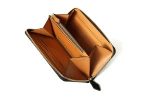 1位:BRIDLE LEATHER ブライドルレザー ラウンドファスナー長財布