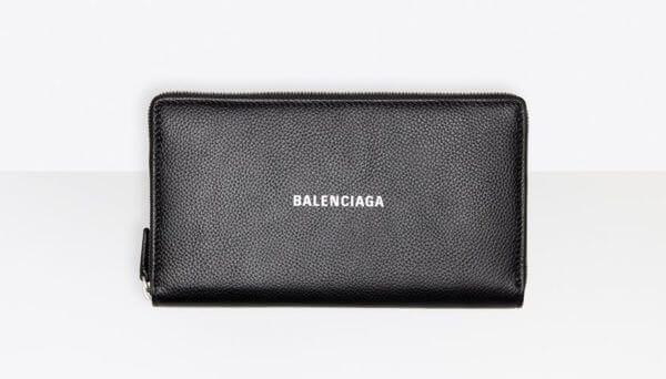 Balenciagaおすすめ財布:Cash Continental ウォレット グレイン カーフスキン