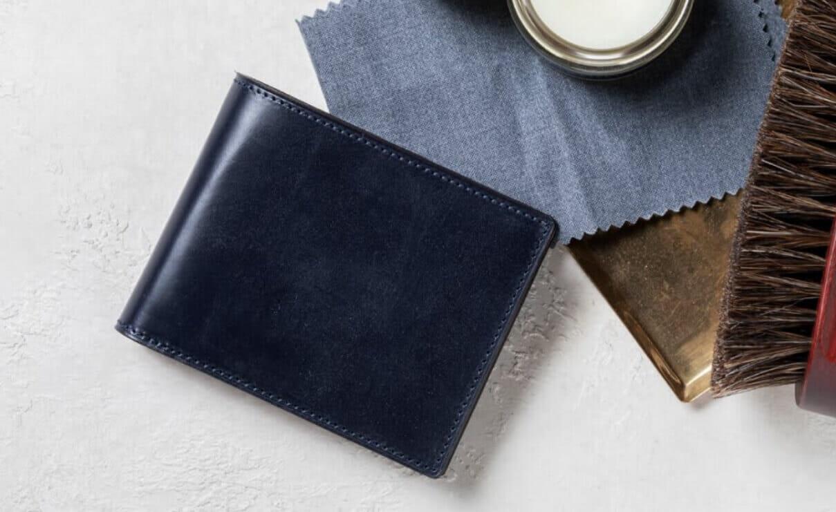 5位:BRIDLE LEATHER ブライドルレザー 二つ折り財布|crafsto(クラフスト)