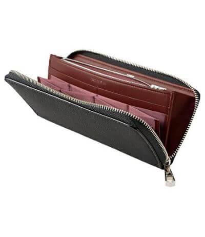 CYPRIS おすすめ財布:ハニーセル長財布 スパークリングカーフ