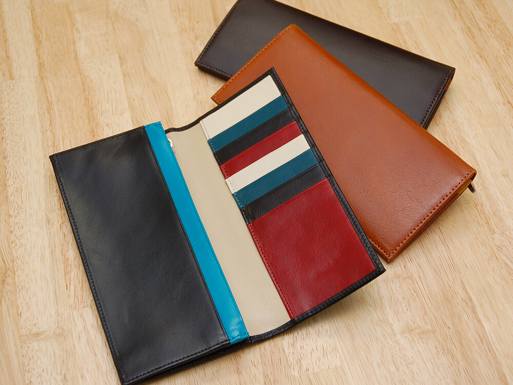 JOGGOおすすめ財布: スリム長財布(カード収納13段)