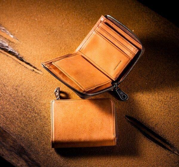 ココマイスターでおすすめのL字ファスナー財布:カルドミラージュ・コンパクトウォレット
