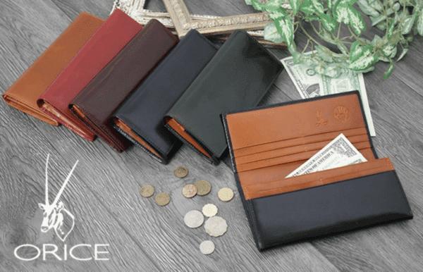 GRENCHECKのおすすめ財布: オリーチェレザー長財布