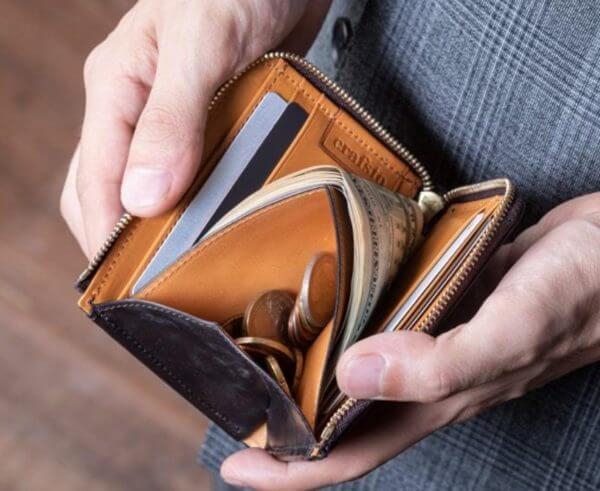 クラフストでおすすめのL字ファスナー財布:BRIDLE LEATHER ブライドルレザー L字ファスナー財布