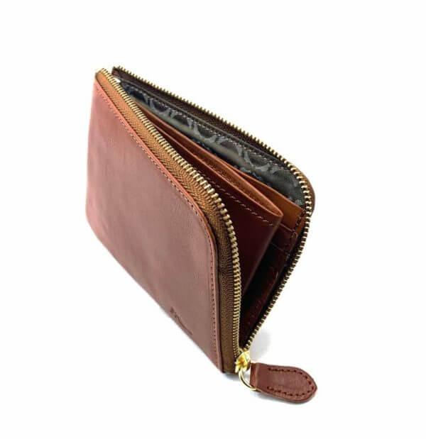 ソットでおすすめのL字ファスナー財布:ピケットレザー Lファスナーミニ財布
