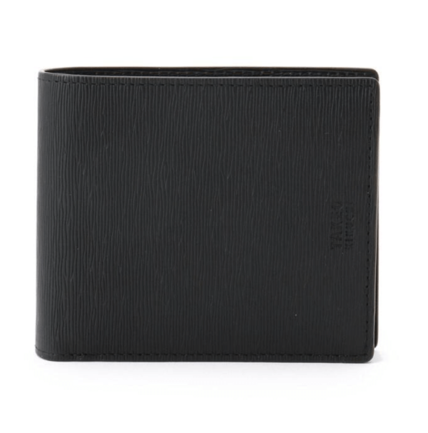 TAKEO KIKUCHIのおすすめ財布:カラー水シボ 二つ折りサイフ