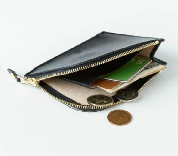 グレンロイヤルでおすすめのL字ファスナー財布:ジップミニパース(マチ付き)(エンボス)