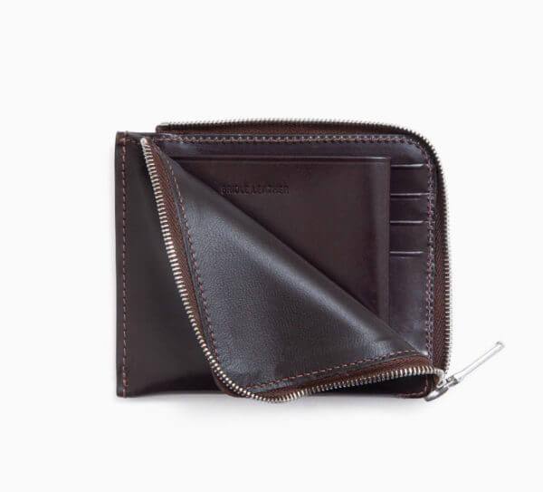 ホワイトハウスコックスでおすすめのL字ファスナー財布:S3068 SLIM ZIP WALLET / BRIDLE