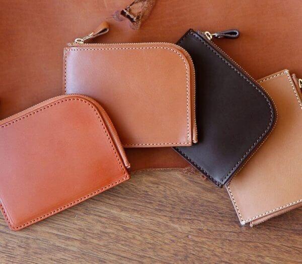 土屋鞄製造所でおすすめのL字ファスナー財布:ナチューラ ヌメ革Lファスナー
