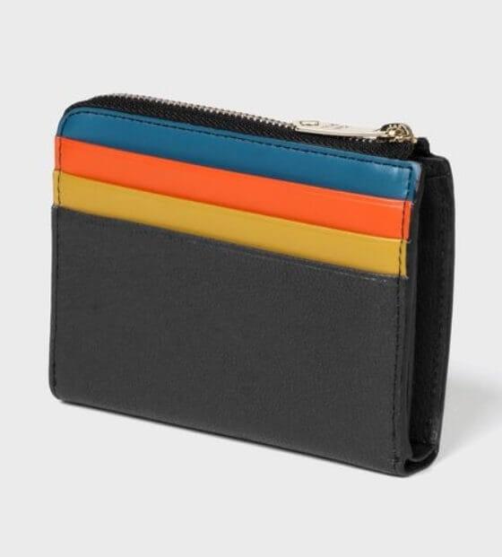 ポール・スミスでおすすめのL字ファスナー財布:カラースロット 2つ折り財布