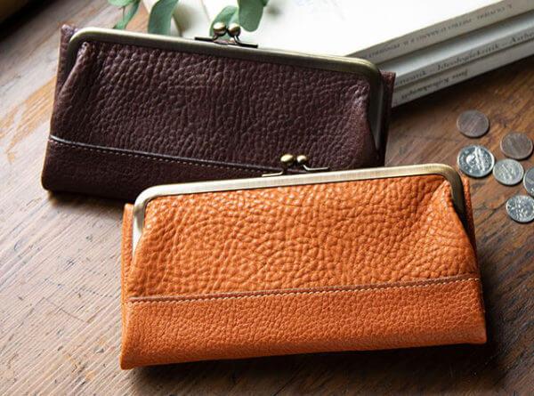 土屋鞄製作所:トーンオイルヌメガマ口財布