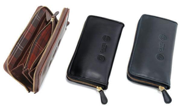 ガンゾ:GH5ラウンドファスナー長財布