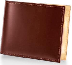 CORDOVAN (コードバン) 小銭入れ付き二つ折り財布/ヘーゼル