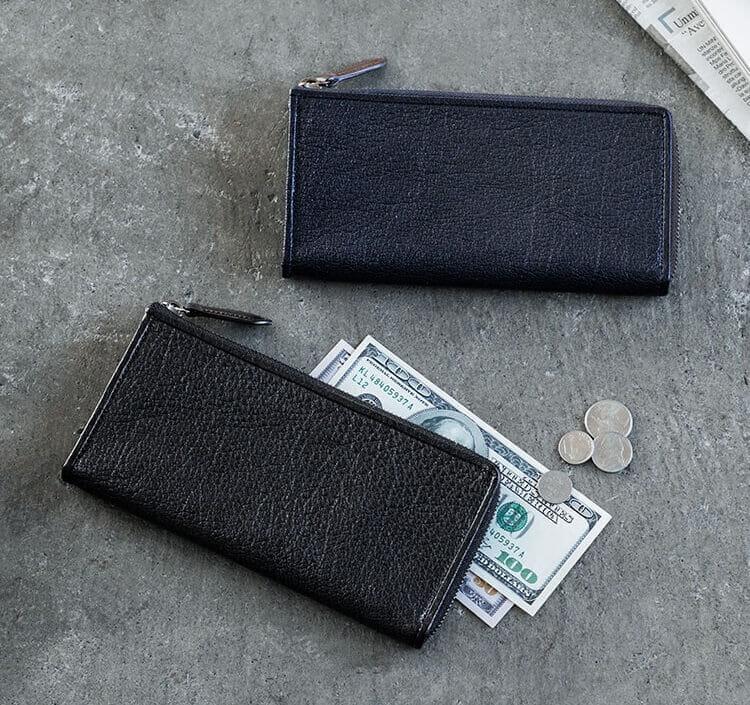 L字ファスナー長財布のタイプは?