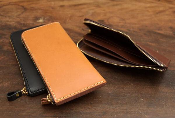 薄い長財布タイプ