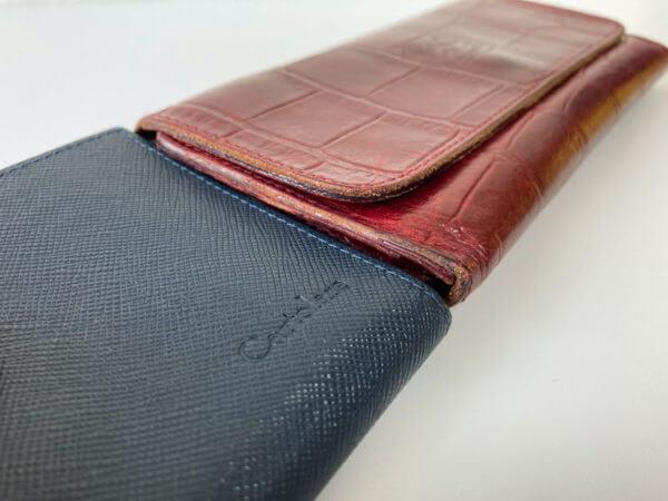 ハンモックウォレットの内装|一般的な財布との比較について
