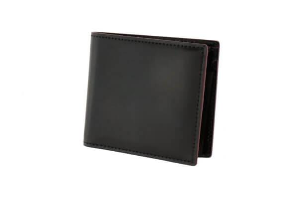 【SHELL CORDOVAN 2 】小銭入れ付き二つ折り財布/ナチュラル