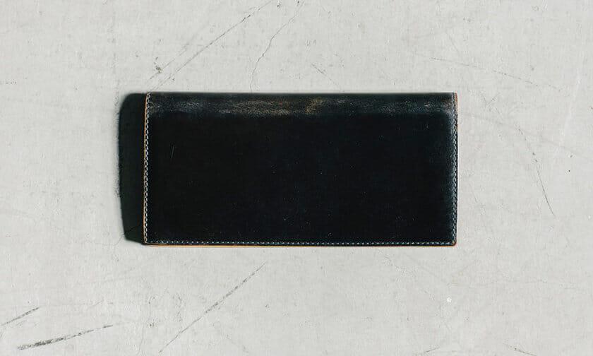 GANZO コードバン財布のエイジング