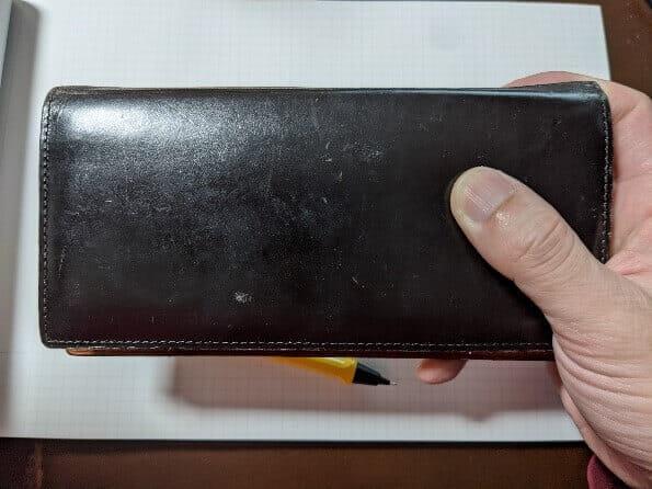 ガンゾのTHIN BRIDLE (シンブライドル) 長財布