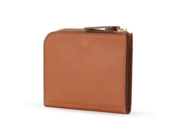フェリージでおすすめのファスナー付き二つ折り財布:折り財布 1058/BU