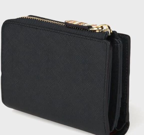 ポール・スミスでおすすめのファスナー付き二つ折り財布:ジップストローグレイン 2つ折り財布