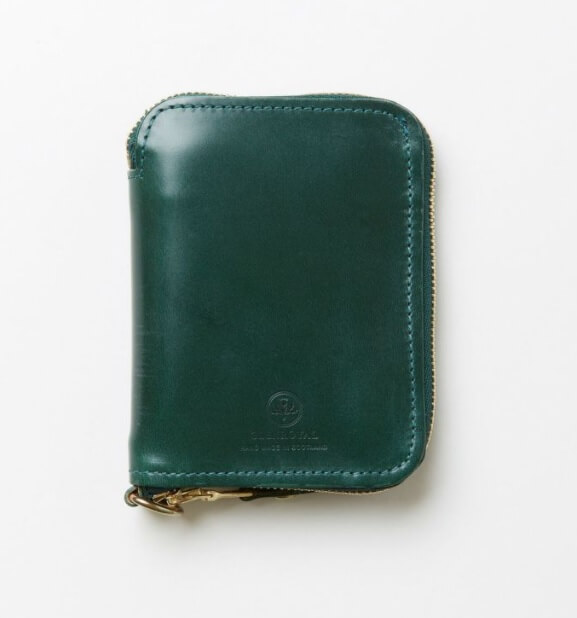 グレンロイヤルでおすすめのファスナー付き二つ折り財布:ジップアラウンドスモールウォレット