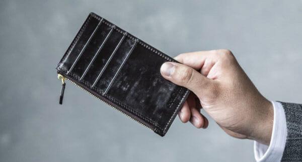 スリムでコンパクトな財布