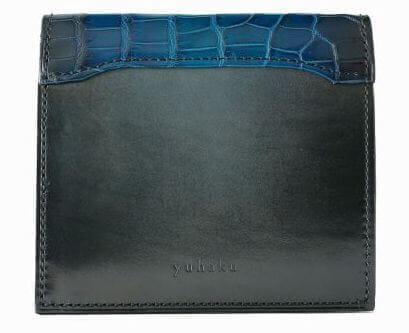 YUHAKU(ユハク)メンズ二つ折り財布