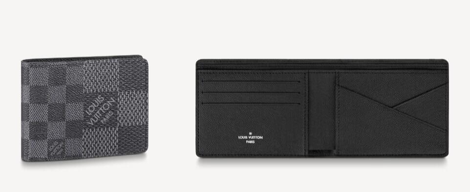 ミニマリスト愛用のメンズ財布:二つ折りタイプ(お札/カード):Louis Vuitton