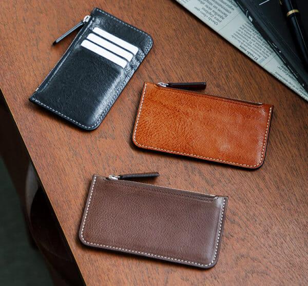 土屋鞄製作所でおすすめの フラグメントケース:ウルバーノ ジップカードケース